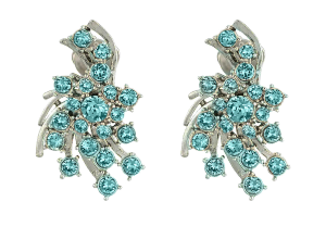 Oscar De la Renta D24-271707 Radiant Crystal dress Button Earring